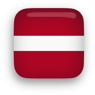 Latvia Flag clip art