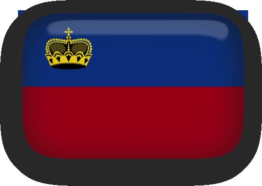 Liechtenstein Flag clipart