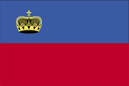 large Liechtenstein flag