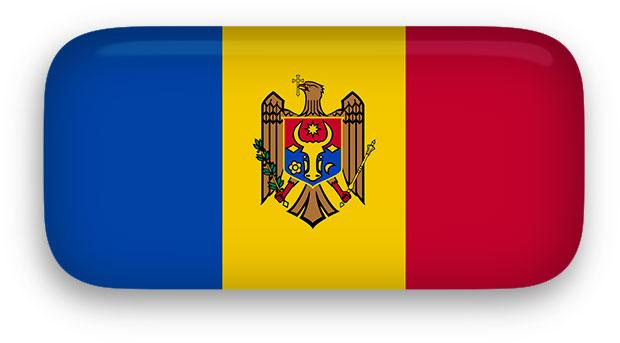 Moldova Flag clipart