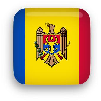 Moldovan Flag clip art