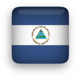 Nicaragua button square