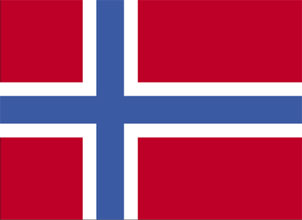 large Norwegian Flag