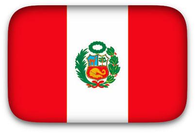 Peru Flag clipart