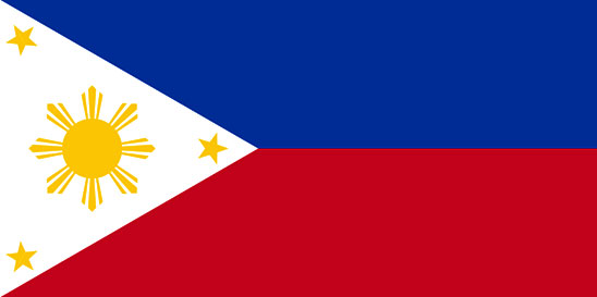 large Philippines Flag