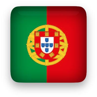 Portugal Flag clipart square
