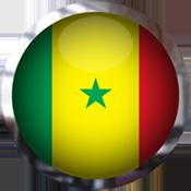 Senegal Flag button