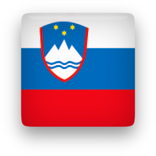 Slovenia Flag button