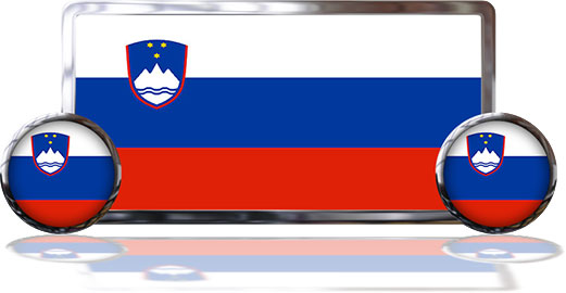 Slovenia Flags