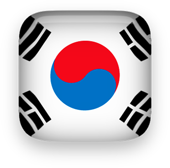 South Korea clipart square