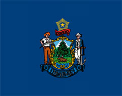 flag of Maine