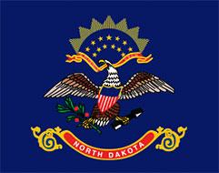 flag of North Dakota