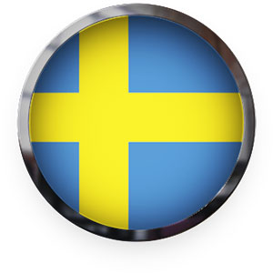Swedish button round