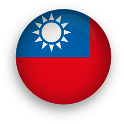 Taiwan button round