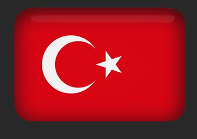 Turkey Flag Clipart