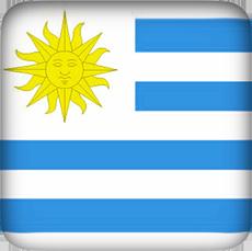 Uruguay Flag clipart