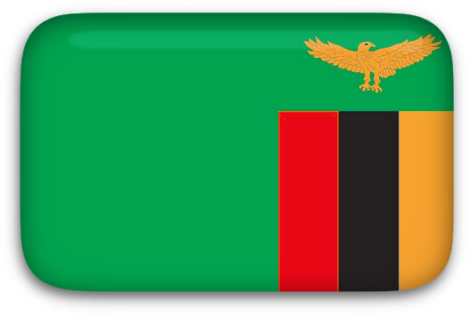 Zambia Flag clipart