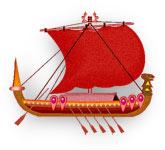 viking ship buza