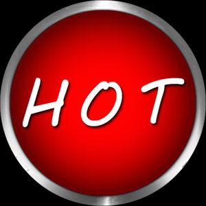 hot button round on black