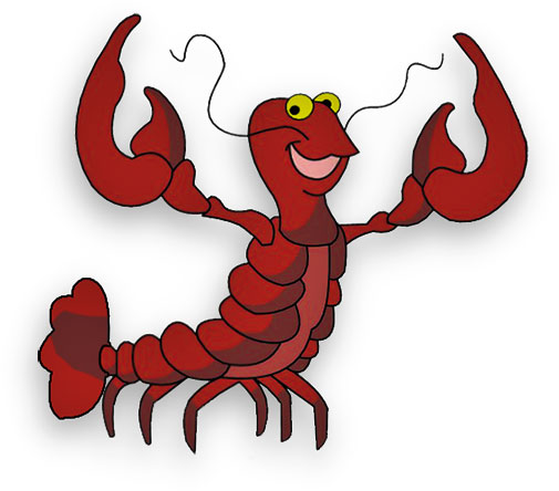 funny lobster clipart - photo #2