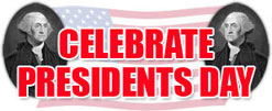 celebrate predidents day clipart