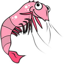 Free Shrimp Gifs - Shrimp Animations - Clipart