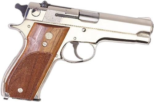 semi-auto hand gun